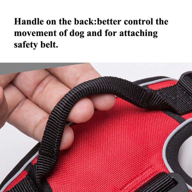 Dog's Reflective Nylon Harness