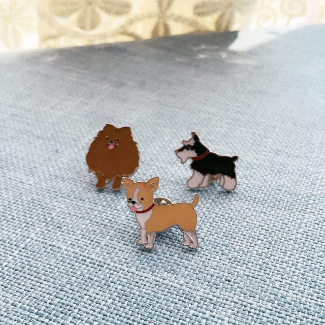 Cute Dog Enamel Pin