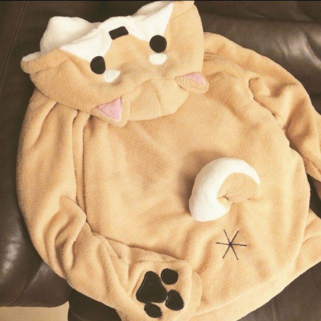 Women's Kawaii Shiba Inu Dog Printed Hoodie