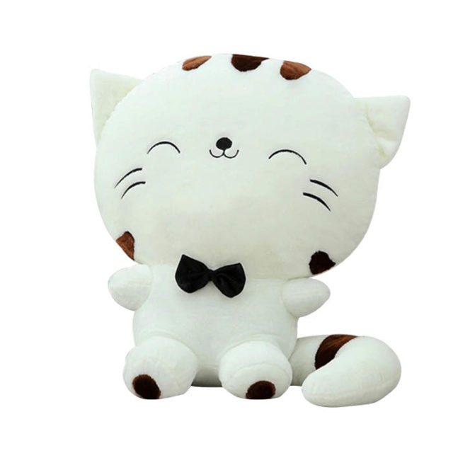 Cute Cat Shaped Plush Toy