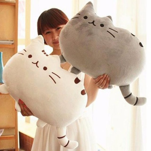 Kawaii Soft Pusheen Cat Plush Toy
