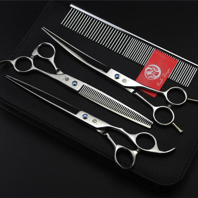 Professional Pet Grooming Scissors Set