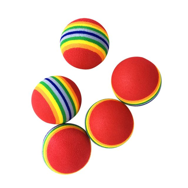 Rainbow Pet Play Ball
